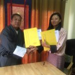 Compact Signing between GM Operations Division and Assistant Landscape Development Manager, Assistant Floriculture Manager and Assistant Nursery Manager